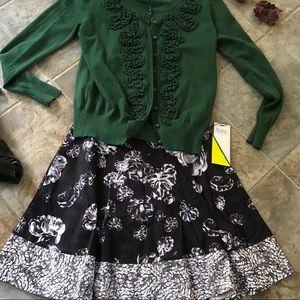 Prabal Gurung for Target floral skirt sz 6 NWT